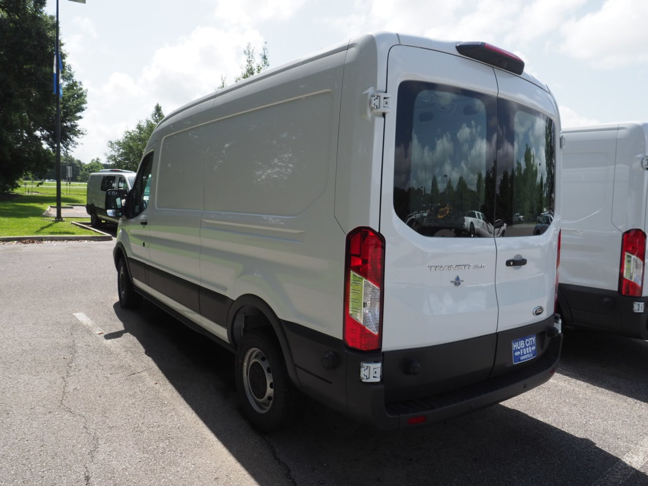 2018 Transit 250 Med Roof 4x2,  Empty Cargo Van #18T1154 - photo 3
