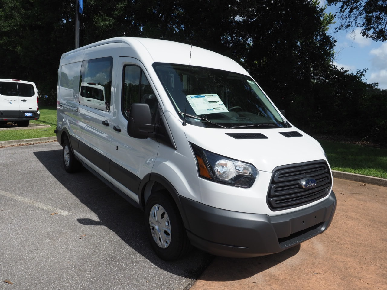2018 Transit 250 Med Roof 4x2,  Empty Cargo Van #18T1175 - photo 3