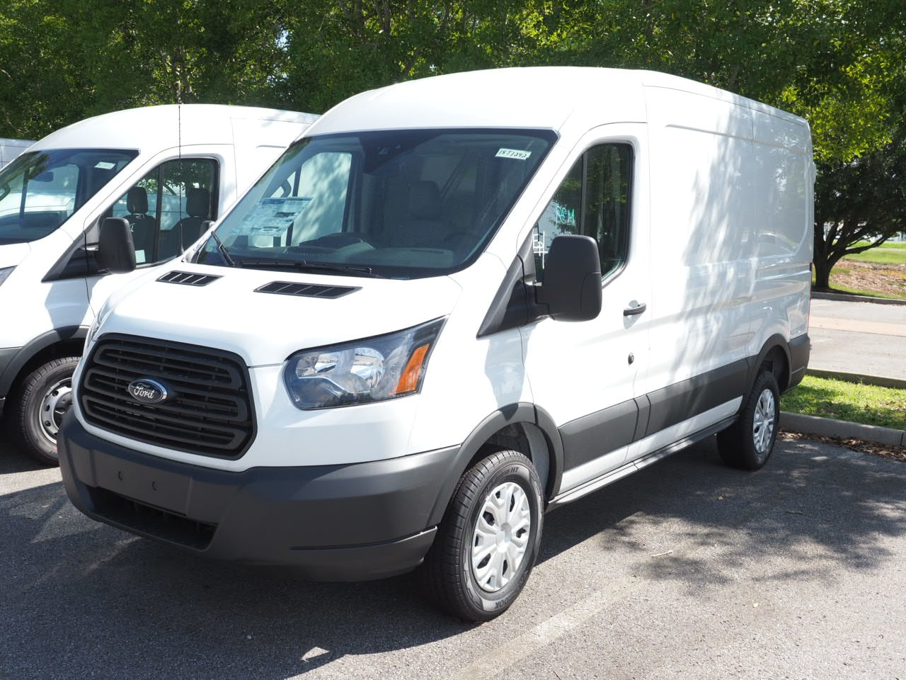 2018 Transit 250 Med Roof 4x2,  Empty Cargo Van #18T1242 - photo 5