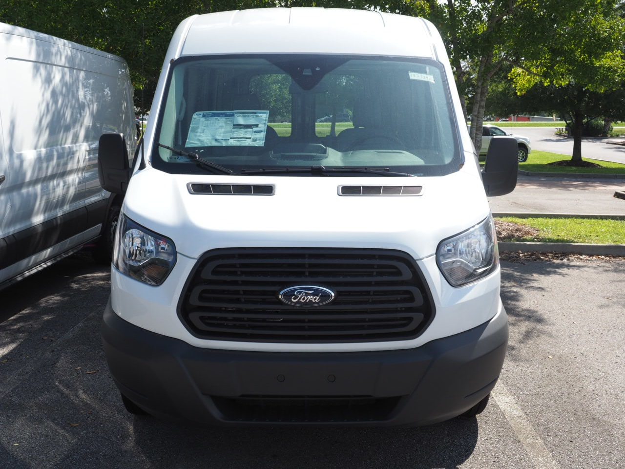 2018 Transit 250 Med Roof 4x2,  Empty Cargo Van #18T1242 - photo 3