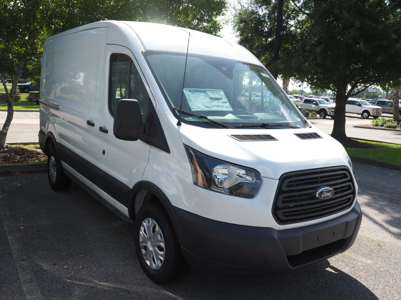 2018 Transit 250 Med Roof 4x2,  Empty Cargo Van #18T1242 - photo 4