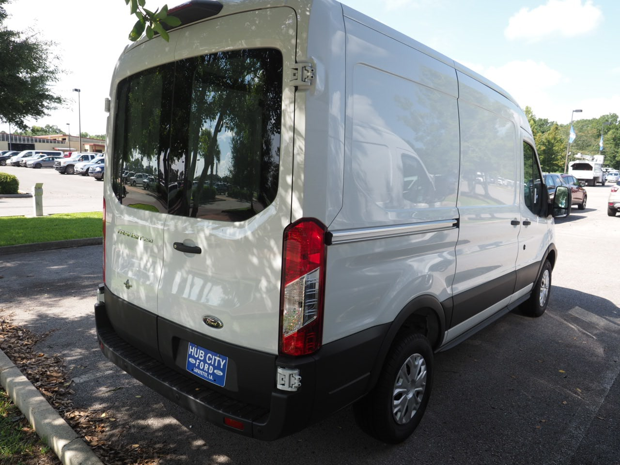 2018 Transit 250 Med Roof 4x2,  Empty Cargo Van #18T1242 - photo 8