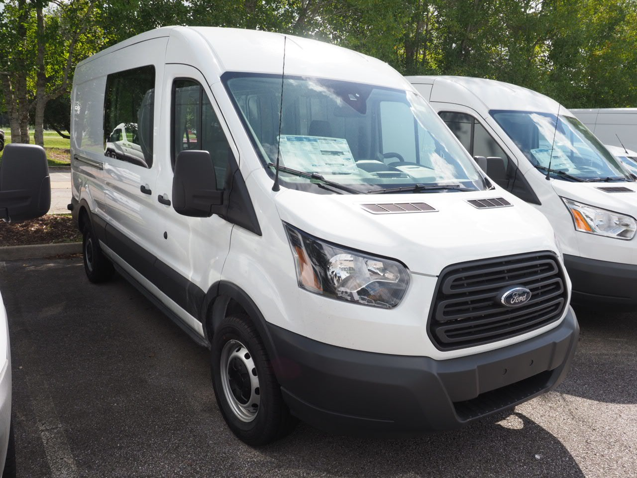 2018 Transit 250 Med Roof 4x2,  Empty Cargo Van #18T1325 - photo 3