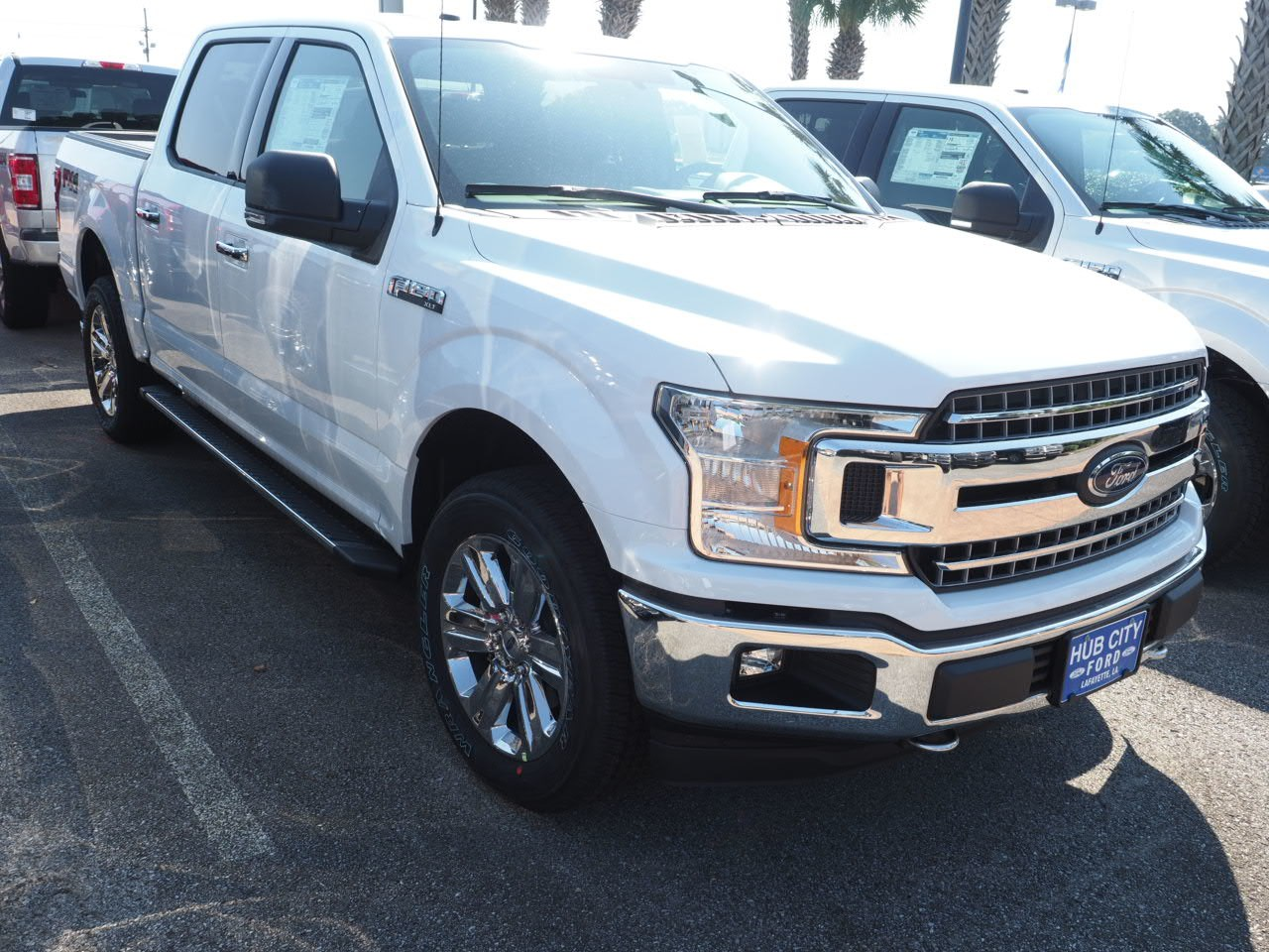 2018 F-150 SuperCrew Cab 4x4,  Pickup #18T1372 - photo 4
