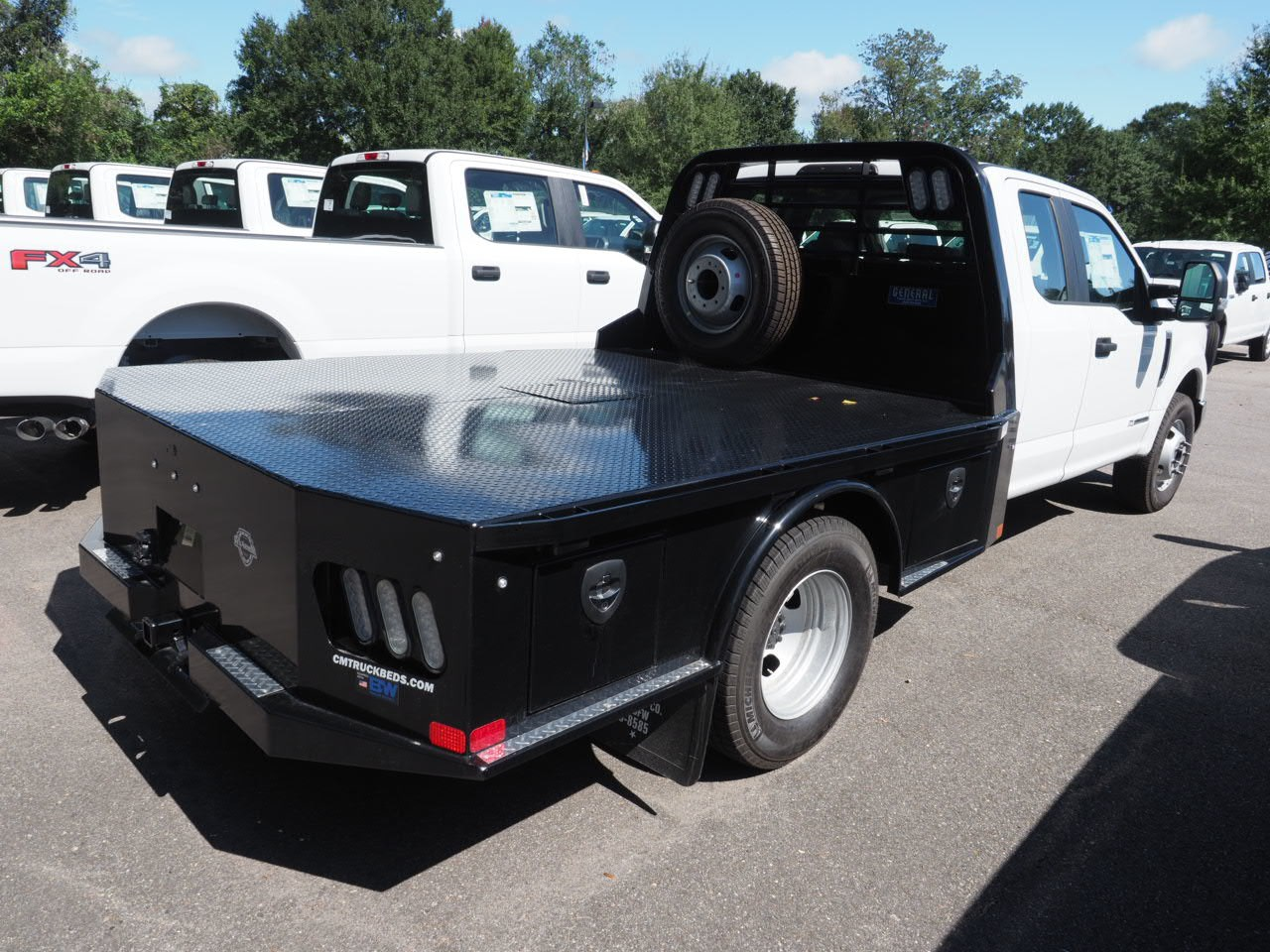 2018 F-350 Super Cab DRW 4x2,  CM Truck Beds Platform Body #18T1448 - photo 6