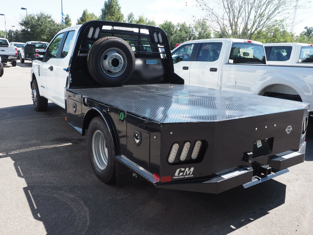2018 F-350 Super Cab DRW 4x2,  CM Truck Beds Platform Body #18T1448 - photo 2