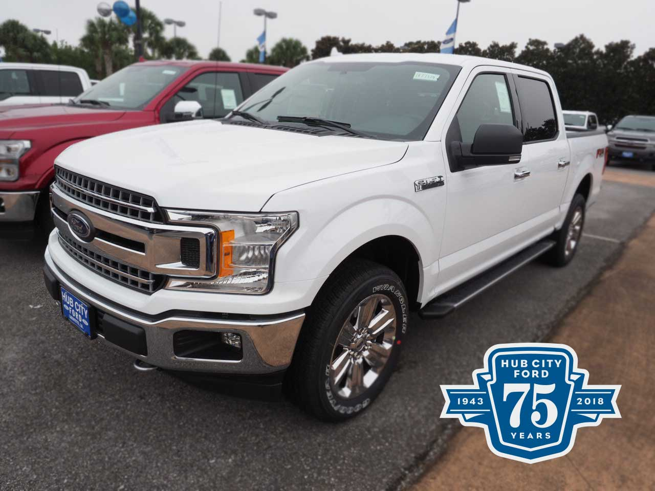 2018 F-150 SuperCrew Cab 4x4,  Pickup #18T1514 - photo 1