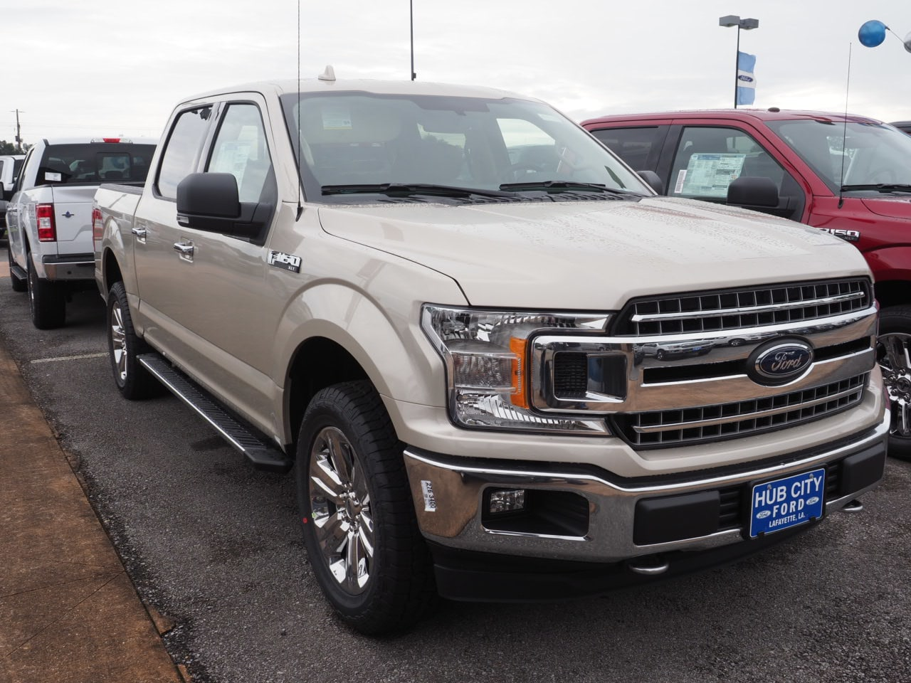2018 F-150 SuperCrew Cab 4x4,  Pickup #18T1530 - photo 4