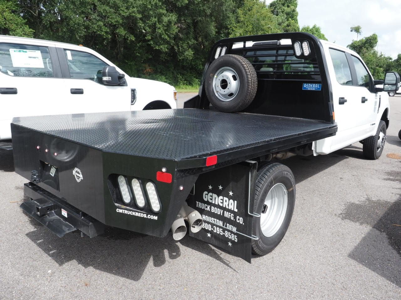 2019 F-350 Crew Cab DRW 4x4,  CM Truck Beds Platform Body #19T0038 - photo 9