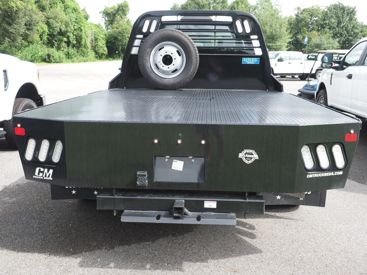 2019 F-350 Crew Cab DRW 4x4,  CM Truck Beds Platform Body #19T0038 - photo 10