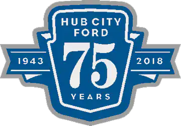Hub City Ford logo