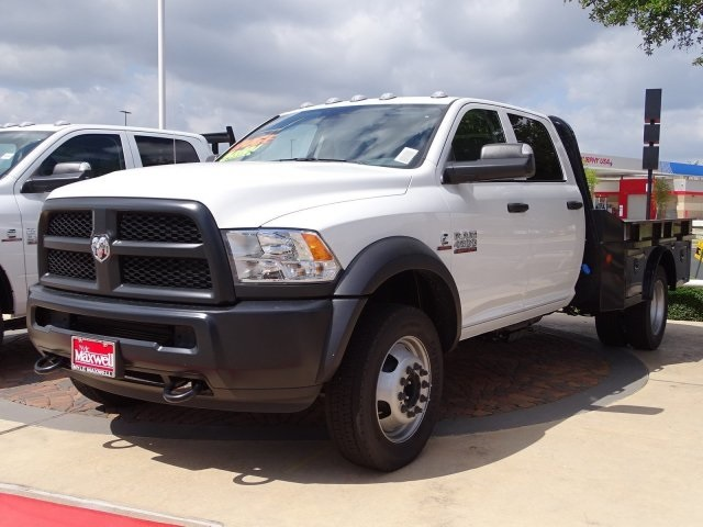 2018 Ram 4500 Crew Cab DRW 4x2,  Norstar Platform Body #JG225070 - photo 8