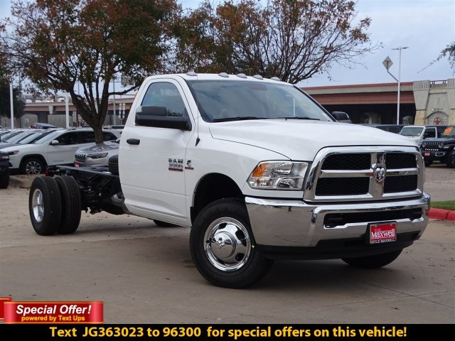 2018 Ram 3500 Regular Cab DRW 4x4,  Cab Chassis #JG363023 - photo 4