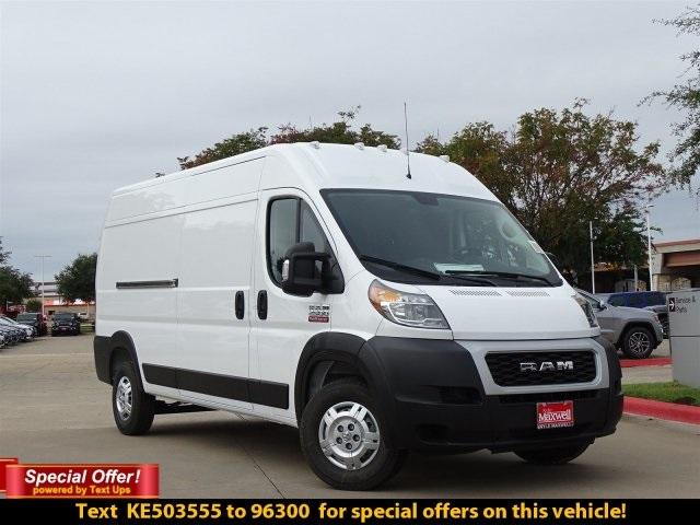 2019 ProMaster 2500 High Roof FWD,  Empty Cargo Van #KE503555 - photo 4