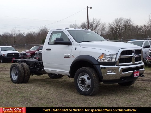 2018 Ram 5500 Regular Cab DRW 4x4,  Cab Chassis #JG406849 - photo 3