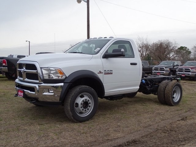 2018 Ram 5500 Regular Cab DRW 4x4,  Cab Chassis #JG406849 - photo 7