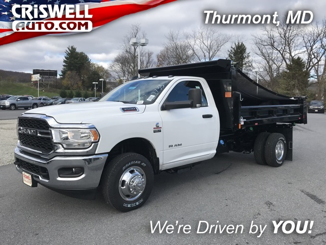 2019 Ram 3500 Regular Cab DRW 4x4, Rugby Dump Body #D190462 - photo 1