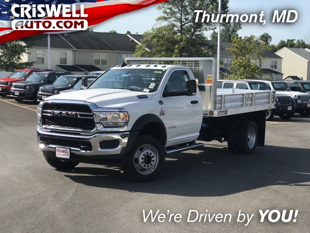 2019 Ram 5500 Regular Cab DRW 4x4, TruckCraft Platform Body #D190487 - photo 1