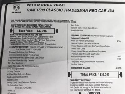 2019 Ram 1500 Regular Cab 4x4, Pickup #D190491 - photo 25