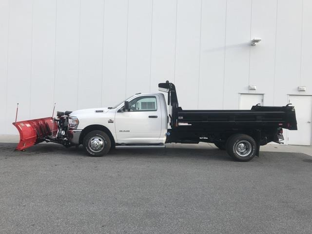 2019 Ram 3500 Regular Cab DRW 4x4, Rugby Eliminator LP Steel Dump Body #D190522 - photo 4