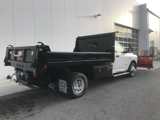 2019 Ram 3500 Regular Cab DRW 4x4, Rugby Eliminator LP Steel Dump Body #D190522 - photo 6