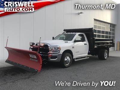 2019 Ram 3500 Regular Cab DRW 4x4, Rugby Eliminator LP Steel Dump Body #D190522 - photo 1