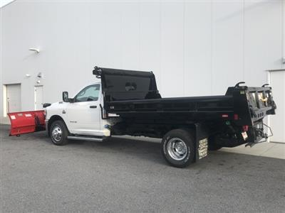 2019 Ram 3500 Regular Cab DRW 4x4, Rugby Eliminator LP Steel Dump Body #D190522 - photo 2