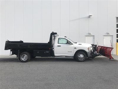 2019 Ram 3500 Regular Cab DRW 4x4, Rugby Eliminator LP Steel Dump Body #D190522 - photo 7