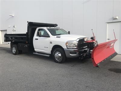 2019 Ram 3500 Regular Cab DRW 4x4, Rugby Eliminator LP Steel Dump Body #D190522 - photo 8
