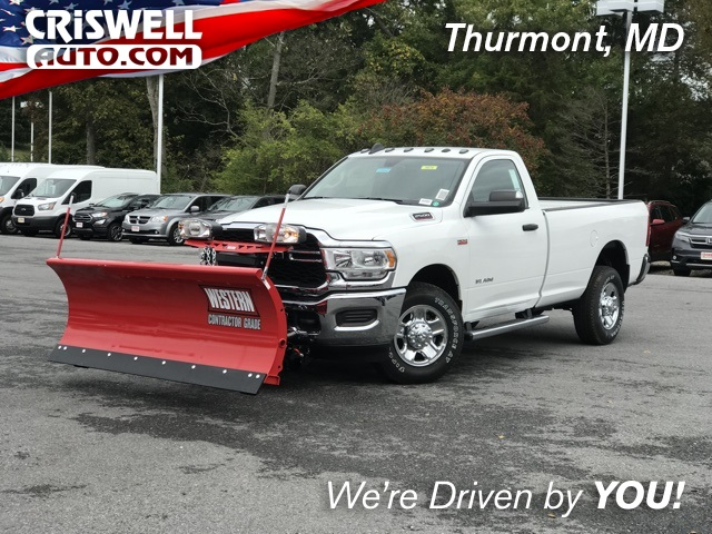 2019 Ram 2500 Regular Cab 4x4, Western Pickup #D190544 - photo 1
