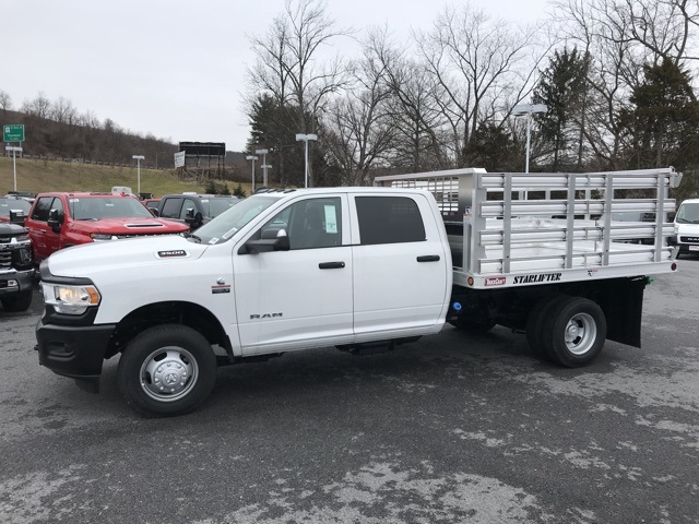 2019 Ram 3500 Crew Cab DRW 4x4, TruckCraft Stake Bed #D190581 - photo 4