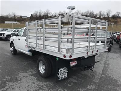 2019 Ram 3500 Crew Cab DRW 4x4, TruckCraft Stake Bed #D190581 - photo 2
