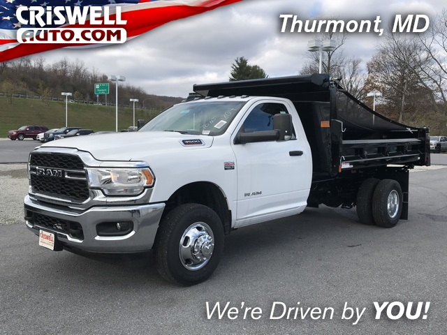 2019 Ram 3500 Regular Cab DRW 4x2, Rugby Dump Body #D190647 - photo 1