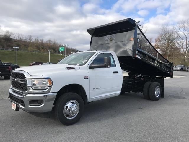 2019 Ram 3500 Regular Cab DRW 4x2, Rugby Eliminator LP Steel Dump Body #D190647 - photo 3