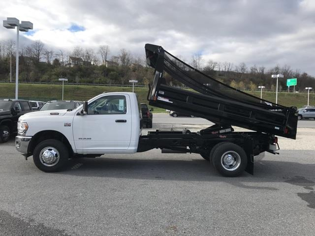 2019 Ram 3500 Regular Cab DRW 4x2, Rugby Eliminator LP Steel Dump Body #D190647 - photo 27