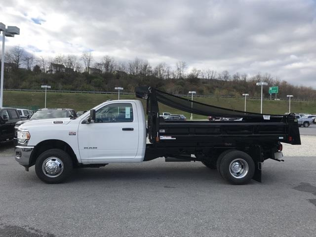 2019 Ram 3500 Regular Cab DRW 4x2, Rugby Eliminator LP Steel Dump Body #D190647 - photo 4