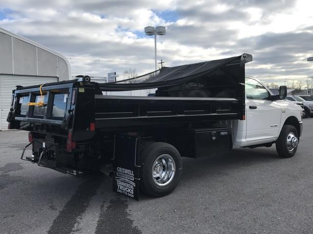 2019 Ram 3500 Regular Cab DRW 4x2, Rugby Eliminator LP Steel Dump Body #D190647 - photo 6