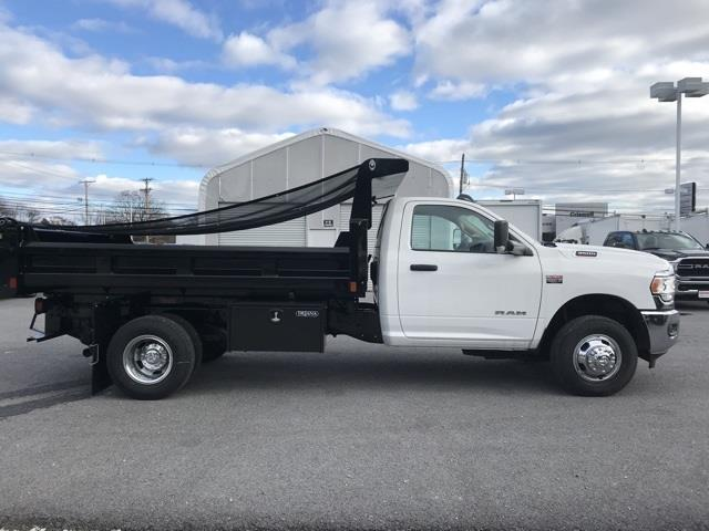 2019 Ram 3500 Regular Cab DRW 4x2, Rugby Eliminator LP Steel Dump Body #D190647 - photo 7