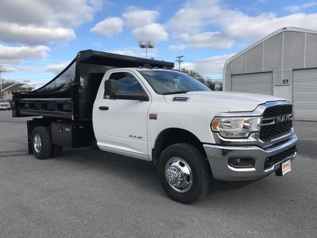 2019 Ram 3500 Regular Cab DRW 4x2, Rugby Eliminator LP Steel Dump Body #D190647 - photo 8