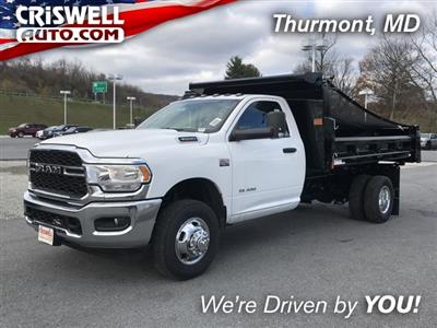 2019 Ram 3500 Regular Cab DRW 4x2, Rugby Eliminator LP Steel Dump Body #D190647 - photo 1