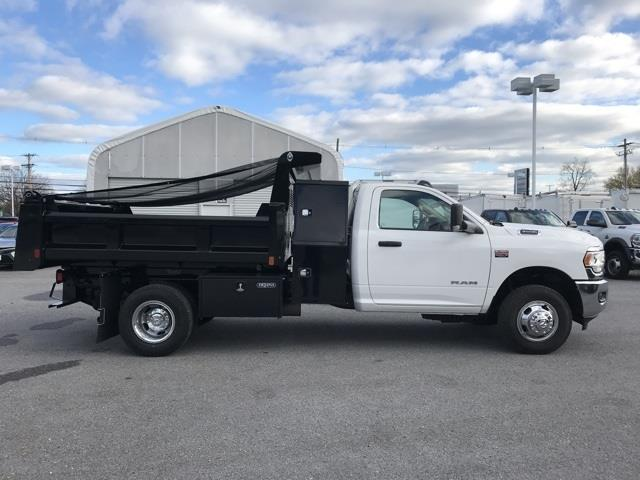 2019 Ram 3500 Regular Cab DRW 4x2, Rugby Eliminator LP Steel Dump Body #D190648 - photo 14