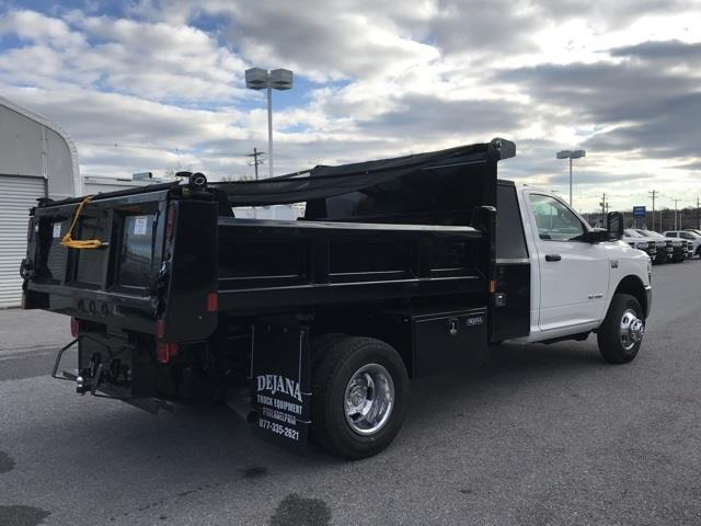 2019 Ram 3500 Regular Cab DRW 4x2, Rugby Eliminator LP Steel Dump Body #D190648 - photo 12