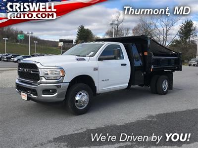 2019 Ram 3500 Regular Cab DRW 4x2, Rugby Eliminator LP Steel Dump Body #D190648 - photo 1