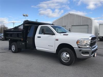 2019 Ram 3500 Regular Cab DRW 4x2, Rugby Eliminator LP Steel Dump Body #D190648 - photo 16