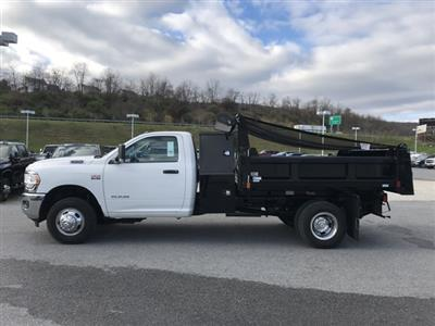 2019 Ram 3500 Regular Cab DRW 4x2, Rugby Eliminator LP Steel Dump Body #D190648 - photo 4