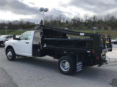2019 Ram 3500 Regular Cab DRW 4x2, Rugby Eliminator LP Steel Dump Body #D190648 - photo 2