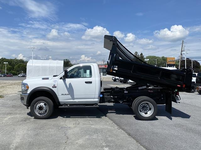 2020 Ram 5500 Regular Cab DRW 4x4, Rugby Eliminator LP Steel Dump Body #D200757 - photo 26