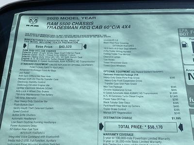 2020 Ram 5500 Regular Cab DRW 4x4, Rugby Eliminator LP Steel Dump Body #D200757 - photo 35