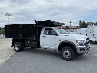 2020 Ram 5500 Regular Cab DRW 4x4,  PJ's Truck Bodies Landscape Dump #D200758 - photo 8