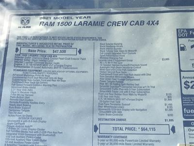 2021 Ram 1500 Crew Cab 4x4, Pickup #D210235 - photo 38